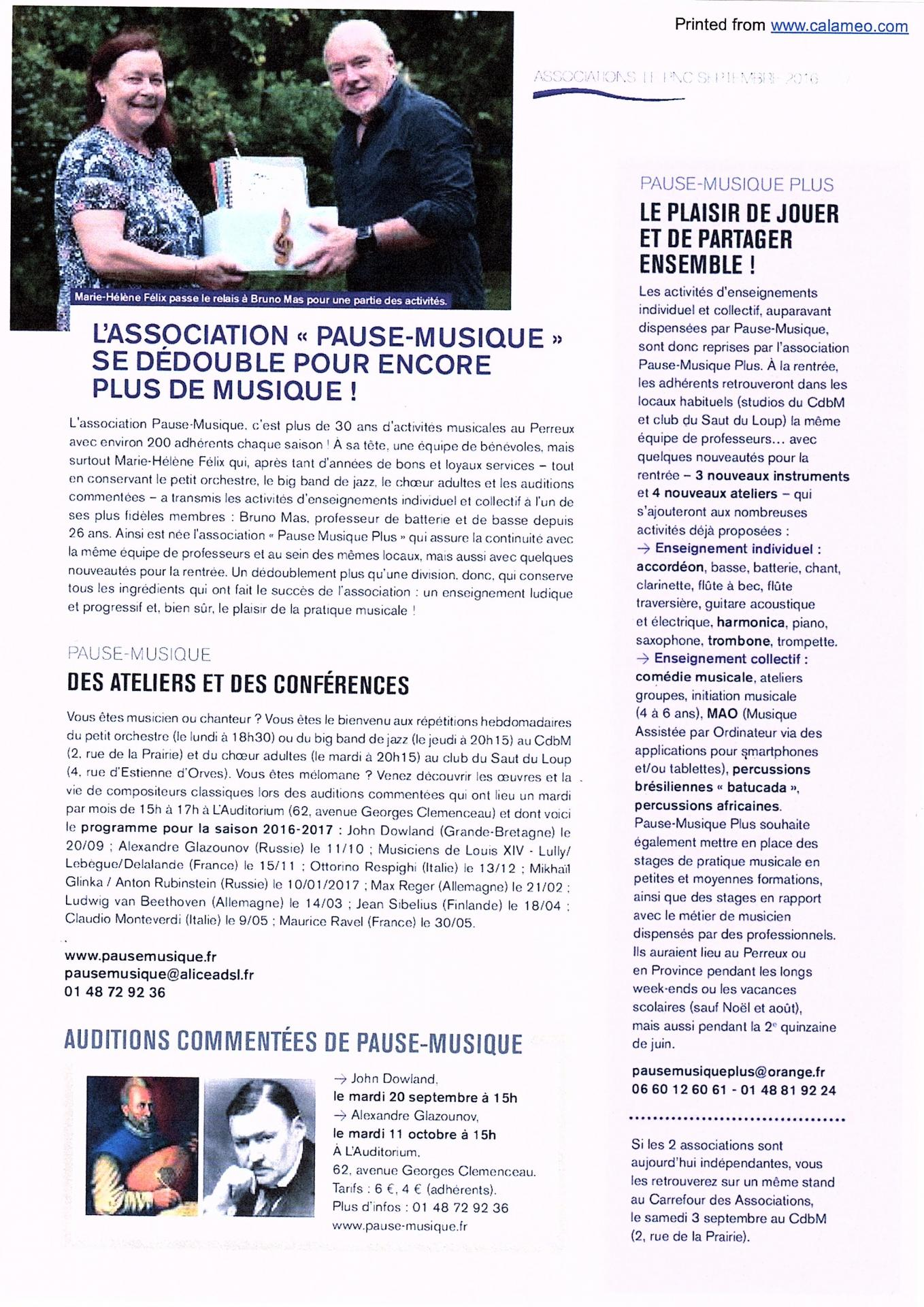 3057a0beabe Paru dans le journal de la Ville du Perreux (Septembre 2016)